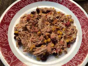 Slow Cooker Recipe Creamy Shredded Mexican Chicken