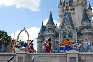 Walt Disney World Castle Show